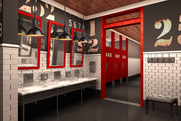 Restrooms: Interior Design