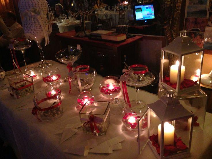 Confettata Rosso Passione su richiesta degli sposi!!!