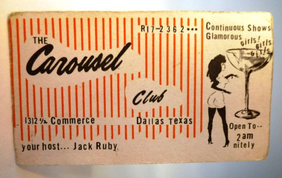 Own a piece of HISTORY Jack Ruby killed Oswald the