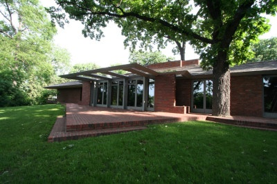 Willey House. 1932-4. Minneapolis, Minnesota. Frank Lloyd Wright