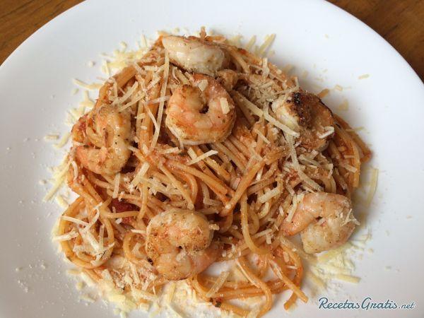 Pasta cajún con camarones #RecetasdeCocina #RecetasFáciles #RecetasItalianas #ComidaItaliana #PastayPizza #Cajún