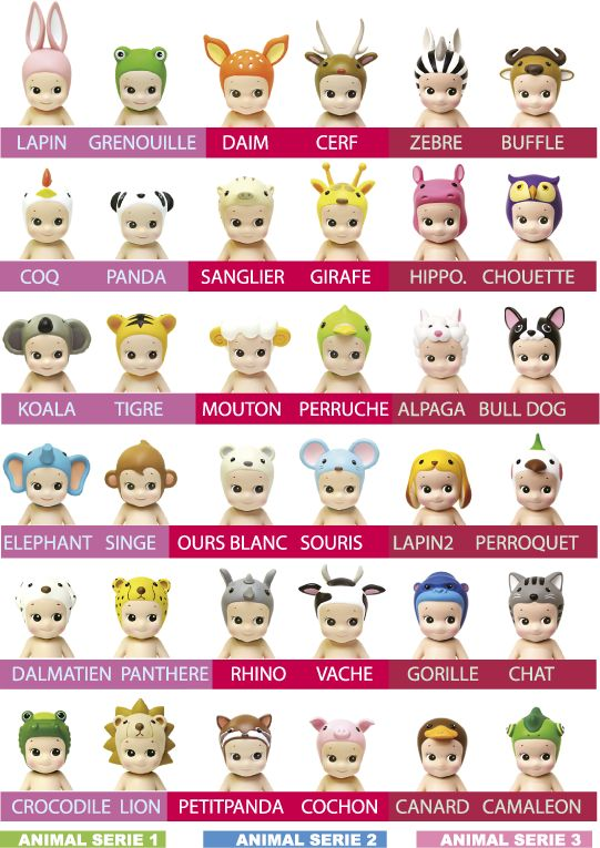 sonny angel animals - collect them all!