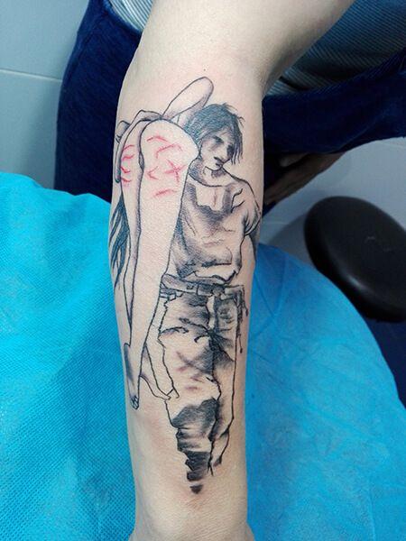 Tatuaje de chicos realizado en nuestro centro de Montera de Madrid #tattoo #tattoos #tattooed #tattooing #tattooist #tattooart #tattooshop #tattoolife #tattooartist #tattoodesign #tattooedgirls #tattoosketch #tattooideas #tattoooftheday #tattooer #tattoogirl #tattooink #tattoolove #tattootime #tattooflash #tattooedgirl #tattooedmen #tattooaddict#tattoostudio #tattoolover #tattoolovers #tattooedwomen#tattooedlife #tattoostyle #tatuajes #tatuajesmadrid #ink #inktober #inktattoo