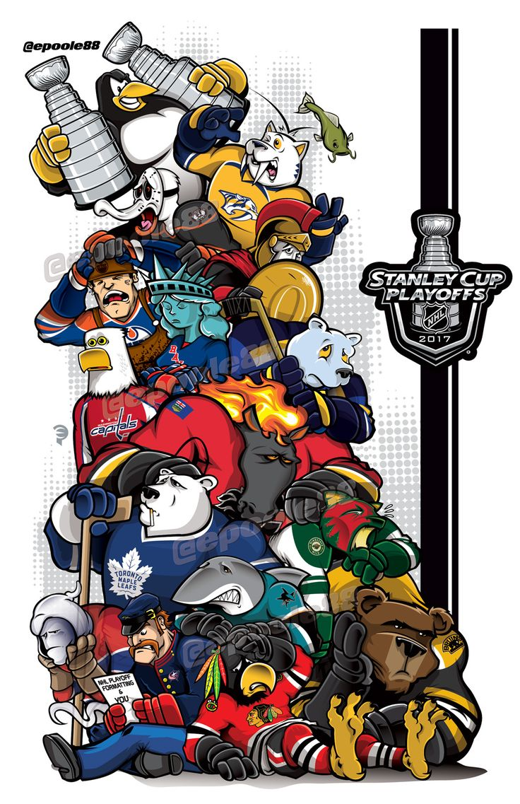 2017 Stanley Cup Hangover. 'Til next season!