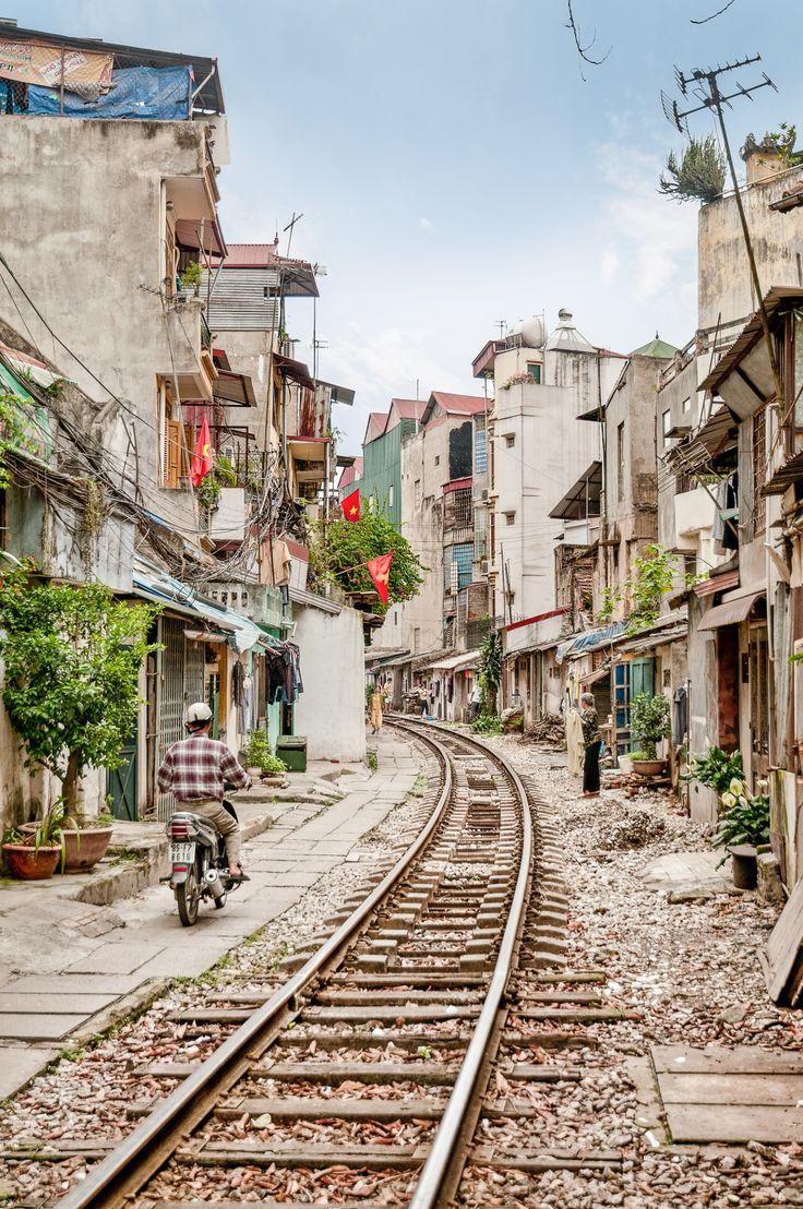 Train tracks - Hanoi, Vietnam