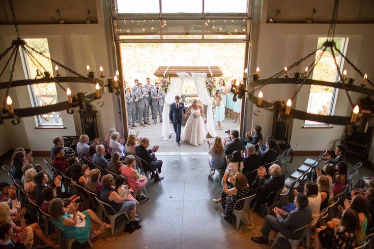 Ciderhouse Ceremony - Erin Wallis Photography