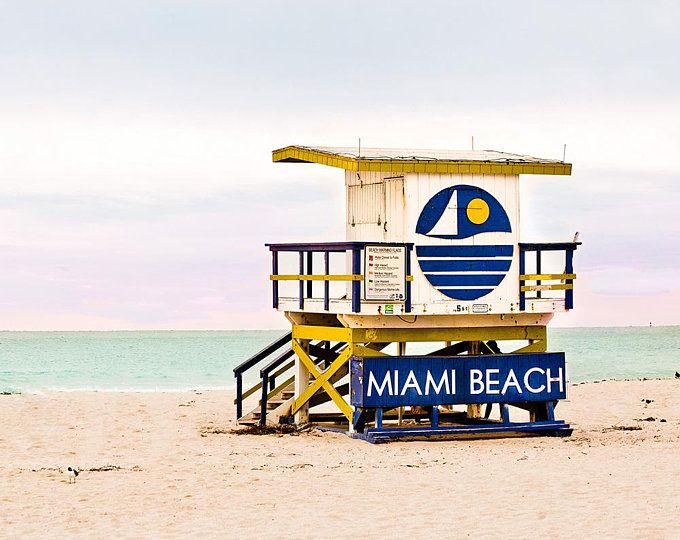 Colorful Iconic Art Deco Lifeguard Stands Photographed By Catch A