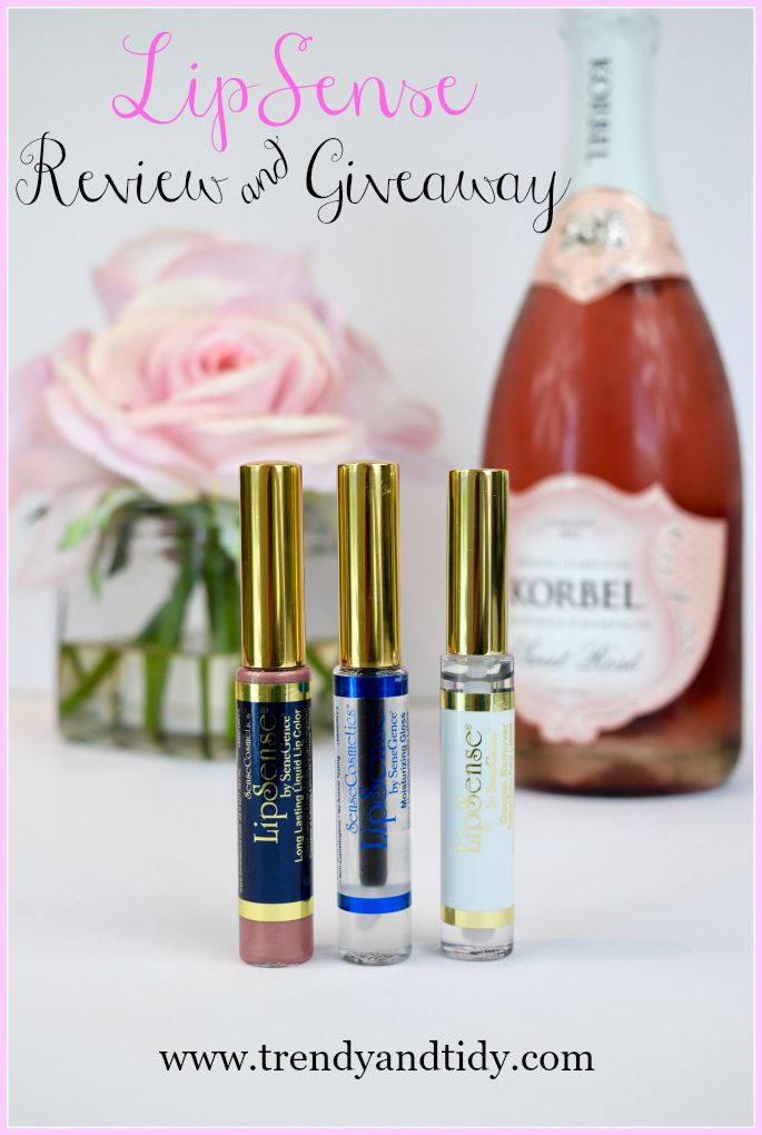 Trendy Tuesday: LipSense Review & Giveaway - Trendy & Tidy