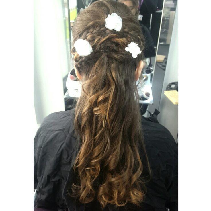 Bridal hair done by my best friend Alex follow her instagram account @adprsfx