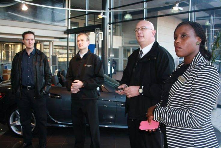 Guests & clients at Mercedes-Benz