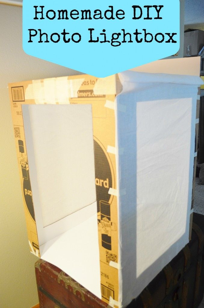 DIY Photo Light Box set up - a couple display boards, some thin white muslin cloth and a few tweaks is a good start to save some money and get your photography studio for small business and Etsy shops on their way.