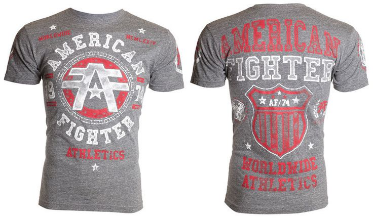 American Fighter AFFLICTION Mens T-Shirt DAVENPAINT Tattoo Gym MMA UFC M-3XL $36 #Affliction #GraphicTee