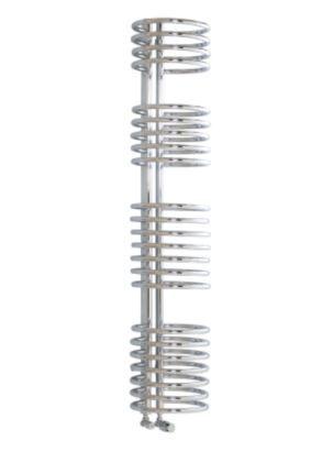Kudox Loop Decorative Radiator Chrome Plated (H)1635 x (W)320mm, 5060069421210