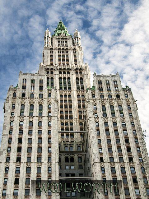 Woolworth Building ~ New York City, New York