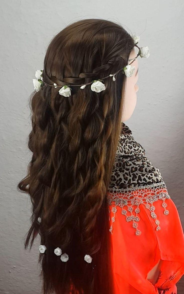Anleitung für ein Wasserfallgeflecht Step by Step für Girls Party Hairstyles 2020 (3
