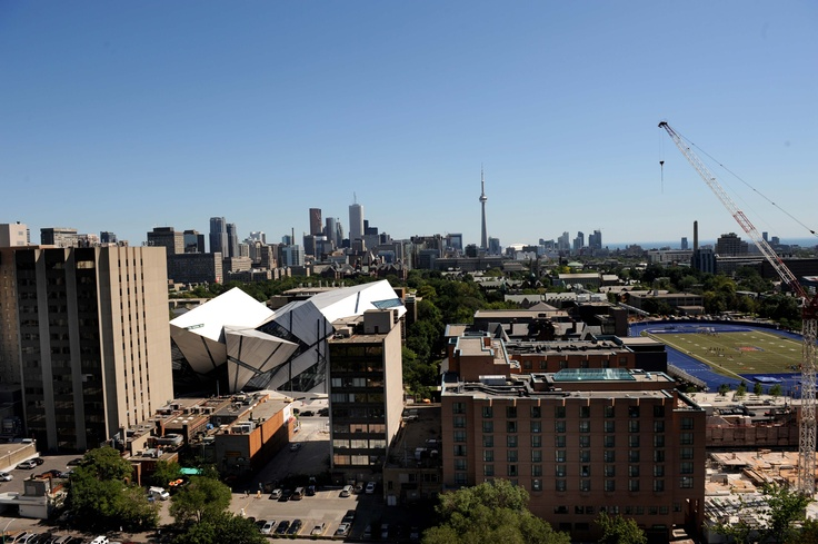 View from our flagship location. 20 Prince Arthur, Toronto