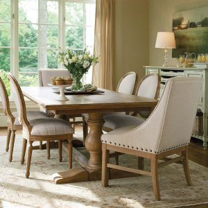 Farm Style Dining Room Table And Chairs
