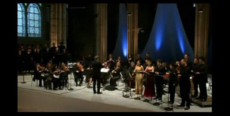 """Early music ensemble Le Poème Harmonique performs Marc-Antoine Charpentier's and Jean-Baptiste Lully's """"Te Deum"""". Conductor: Vincent Dumestre."""