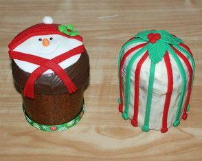 Mini Panetone Recheado - Natal