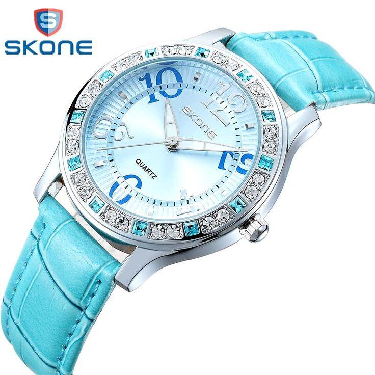 Watch Women brand luxury Fashion Casual quartz watches leather sport Lady relojes mujer women wristwatches Girl Dress