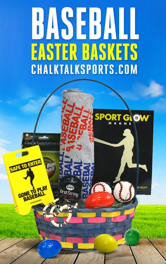 79 best sports easter baskets images on pinterest easter baskets surprise a favorite athlete or runner with a great easter gift such as a pre filled easter basket with hand chosen gifts for various sports and other gifts negle Images