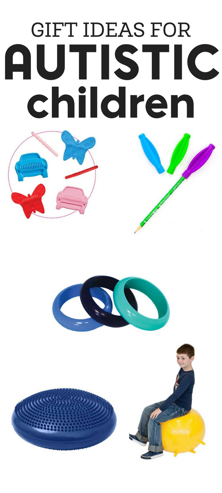 In need of gift ideas for autistic children? Whether your child or some else's, these selections fit any budget or price range.