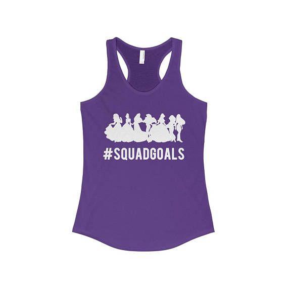 #SQUADGOALS Disney Park Disney World Tank Top Shirt
