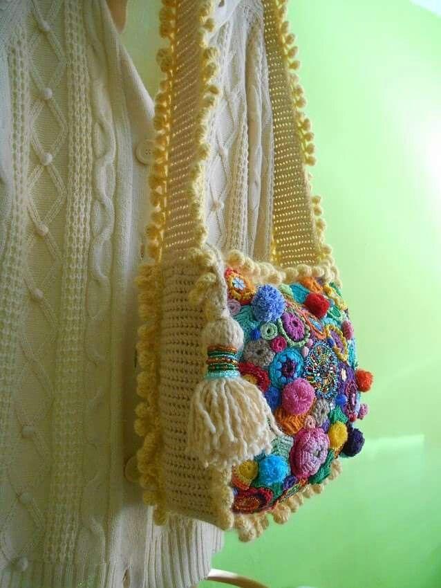 534 besten Bag Crochet NO 1 Bilder auf Pinterest | Häkeln, Lady und ...