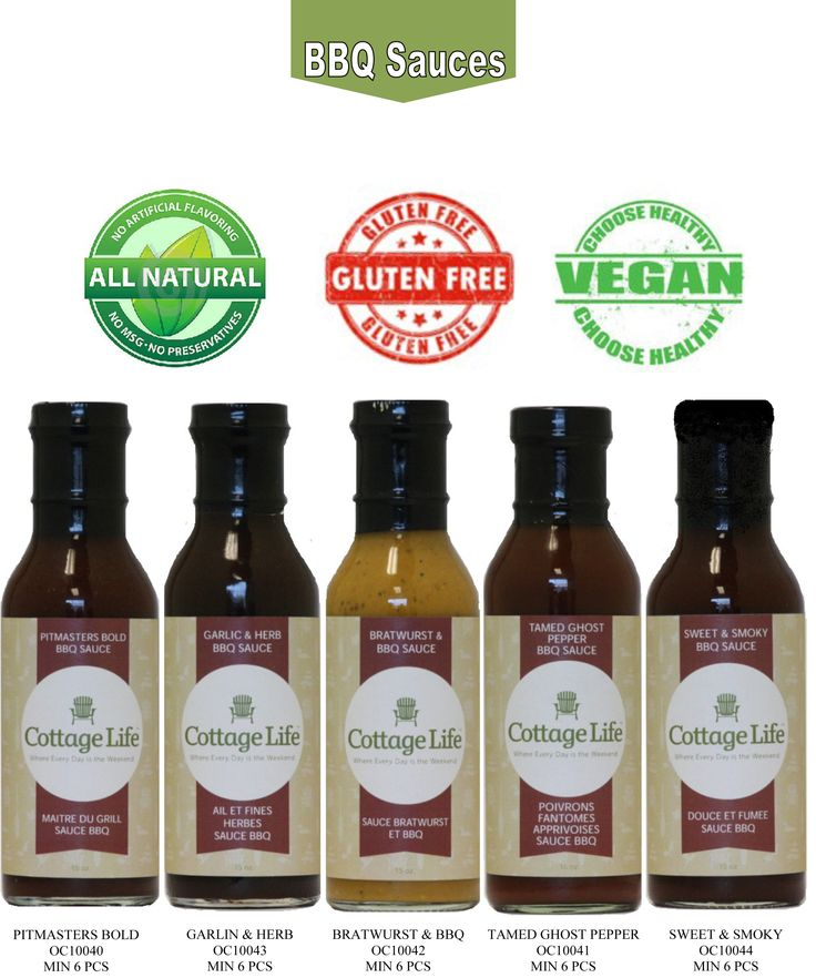 Our NEW bbq sauces are vegan, gluten free and preservative free = can you say YES please!!!