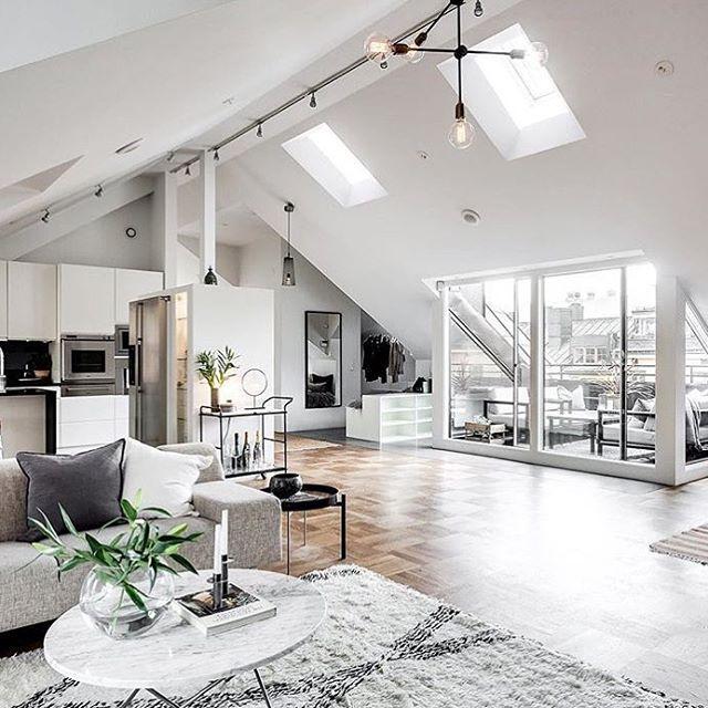 Lovely modern interior via @alexanderwhitesthlm 💗