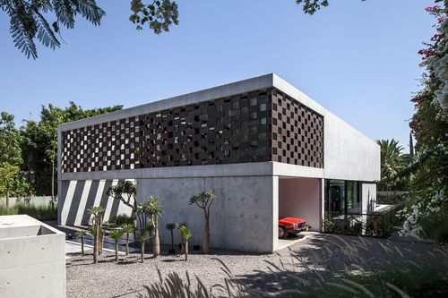 The Corten House by Pitsou Kedem Architects | Daily Icon