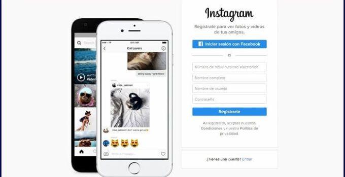 Como crear cuenta de instagram