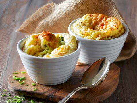 Kartoffelsouffleer med spændende fyld | AMA