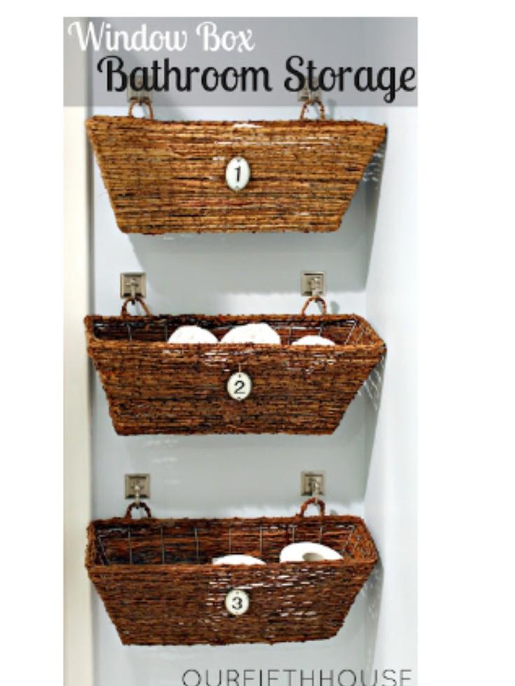 Baskets organizer