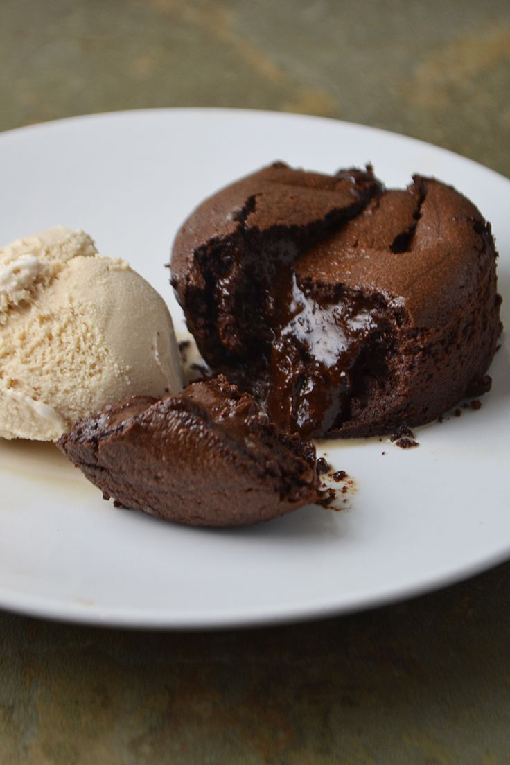 Irish Whiskey Chocolate Fondant.