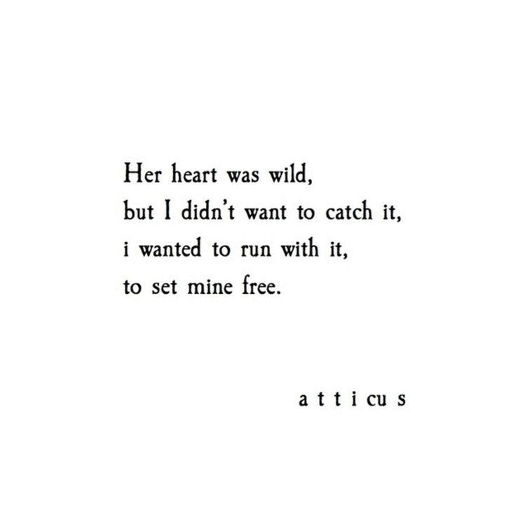 'Wild Heart' @Atticuspoetry #Atticuspoetry