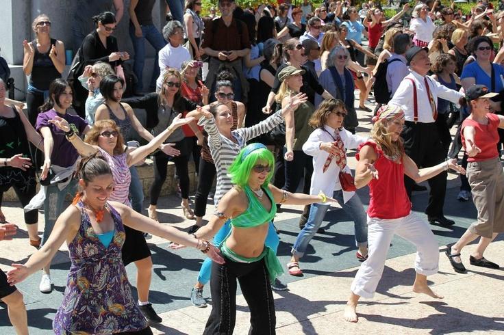 dance rhythm & motion - Union Square, SF