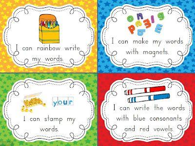 Mega Word Work Freebie-great ideas for word work!