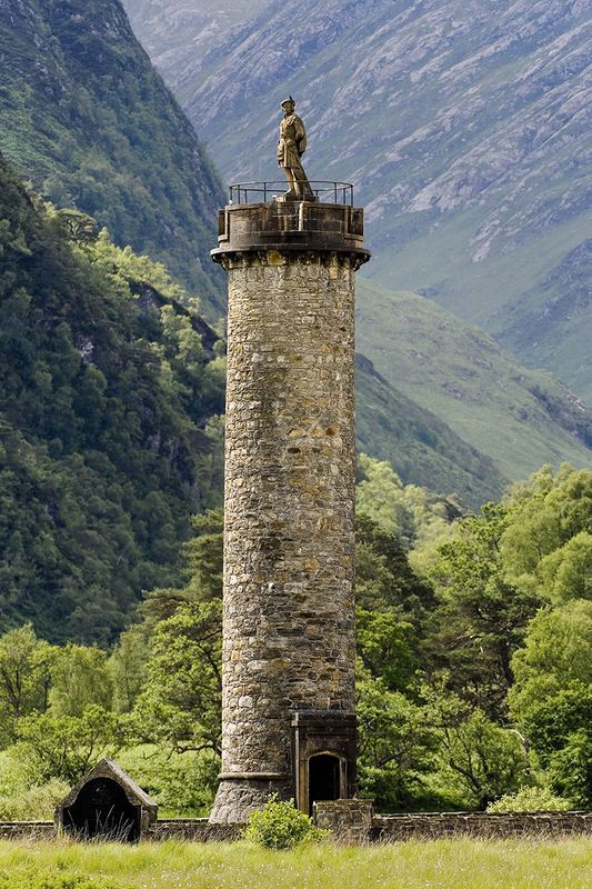 Glenfinnan Monument, Scotland                                                                                                                                                                                 More