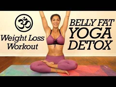 Gentle Yoga for Belly Fat, Digestion & Detox, Core Strength, 20 Minute Flow for Beginners at Home - YouTube