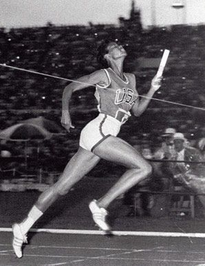 Wilma Rudolph was the darling of the 1960 Olympics in Rome, winnng three gold medals and capturing the admiration of the world.