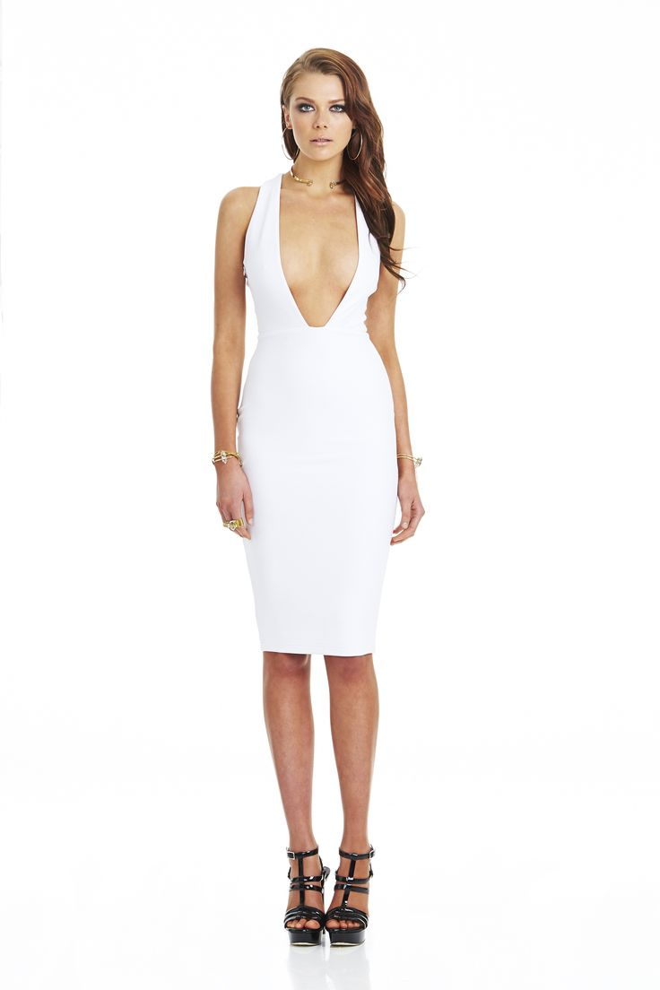 Marilyn Convertible Dress White #nookie