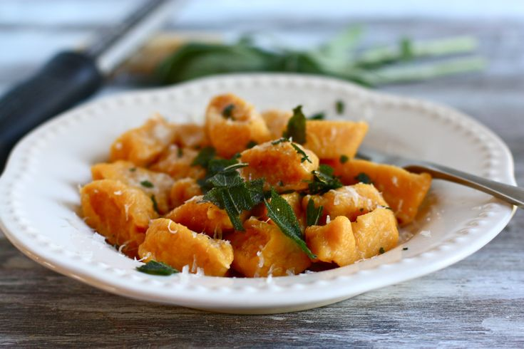 with butternut squash and spinach creamy gnocchi butternut squash and ...