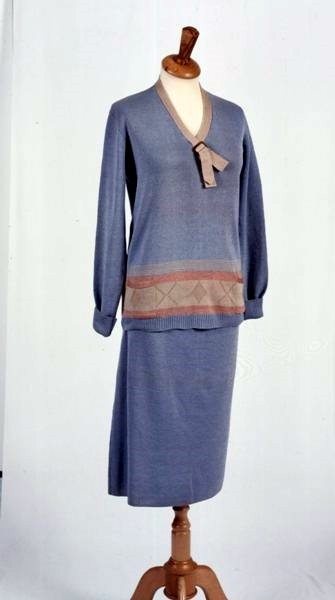 Two-piece jumper suit, St. Margaret, c. 1927.  Walsall Museums.