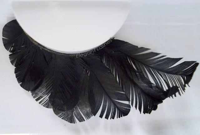 Elegant Lashes | Bulk False Eyelashes for Pro MUA, Dancers, & SalonsF096 Feather Eyelash