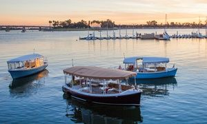Groupon - 90-Minute Electric Boat Rental from Duffy of San Diego (Up to 38% Off). Two Options Available.   in Duffy of San Diego. Groupon deal price: $107