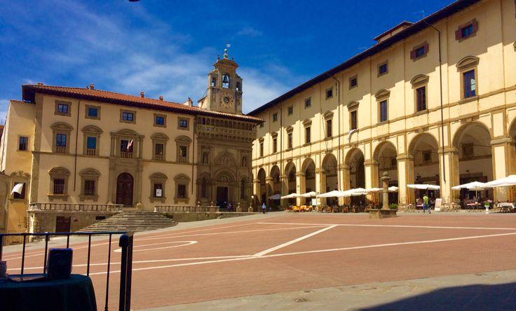 #Arezzo #Piazza #Grande