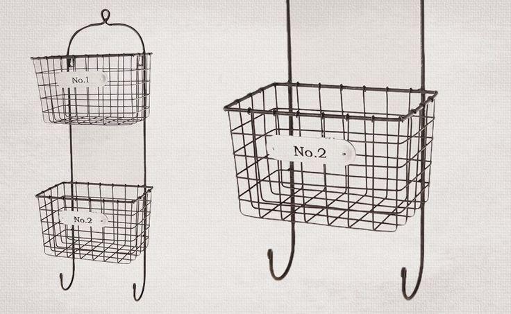 best 25  wire basket storage ideas on pinterest