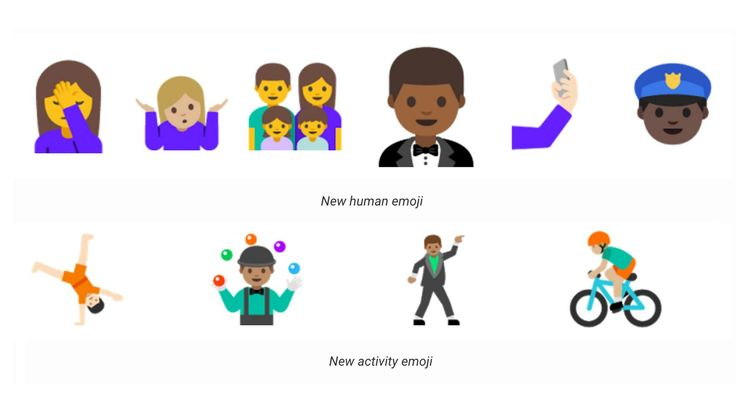 Android emoji will actually look human this year