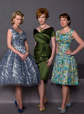 Mad with mad men: The Women, Vintage, Madmen, Men'S Style, Mad Men Fashion, 60S Style, Christina Hendricks, Mad Men Styles, Green Dresses